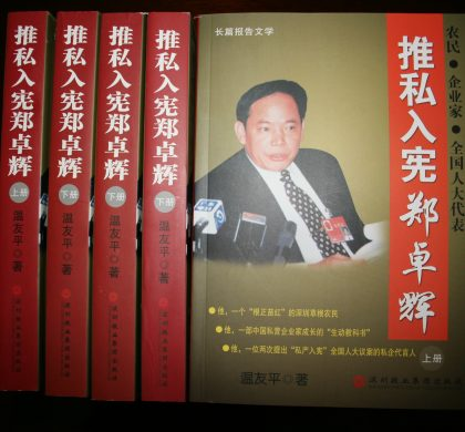 推私入宪郑卓辉:一个中国私营企业家的实践(8)