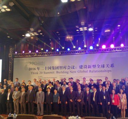 "T20外方智库代表赞中国""创新包容""模式"