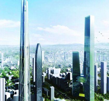 """深圳罗湖拟建""""中国第一高楼"""",高739米"""