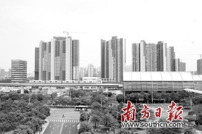 """广州首提""""南沙副中心""""  拟建T3航站楼高铁站"""