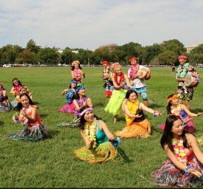 中美旅游年活动亮相白宫南草坪