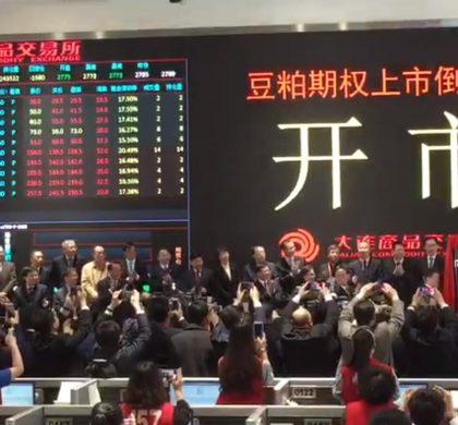 中国首个商品期权正式上市交易