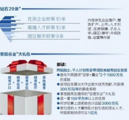 顶尖人才落户广州越秀最高可奖1亿元