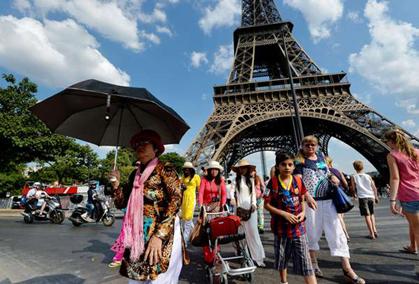 适应中国游客新变化 法国旅游业界服务升级