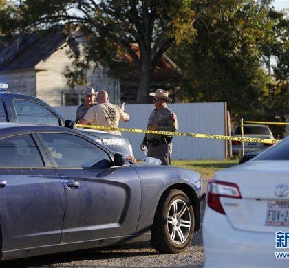 震惊与悲痛——美国得州小城教堂枪击案后难回平静