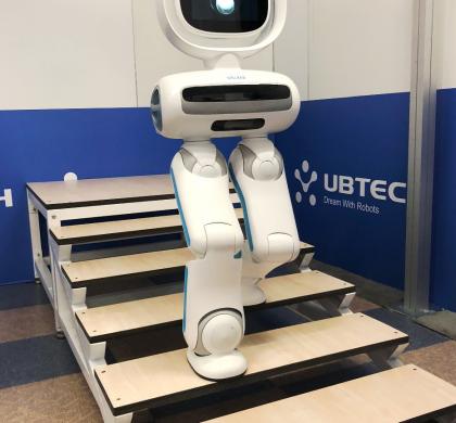 双足机器人能上下楼梯跳舞踢球