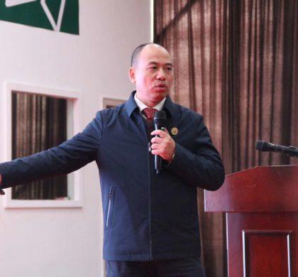 """新经济专家陈宗建献智南漳""""中国有机谷""""对标国际"""