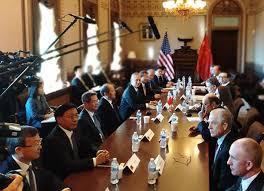 中美经贸高级别磋商结束