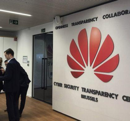 华为网络安全透明中心在布鲁塞尔揭幕