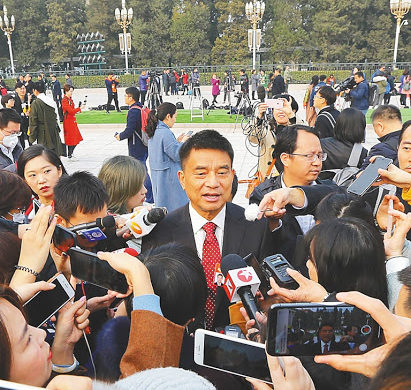 """刘永好委员:从中国民营企业的""""有希望""""跨越到""""新的希望"""""""
