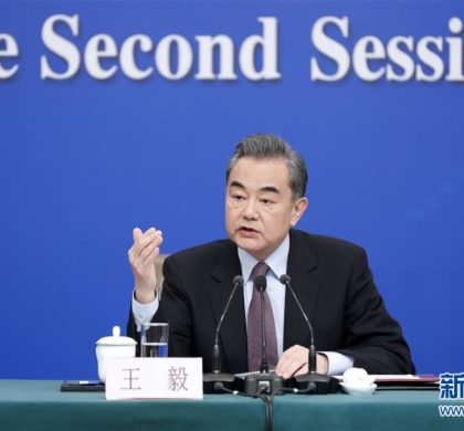 """王毅:支持企业不当""""沉默的羔羊"""""""
