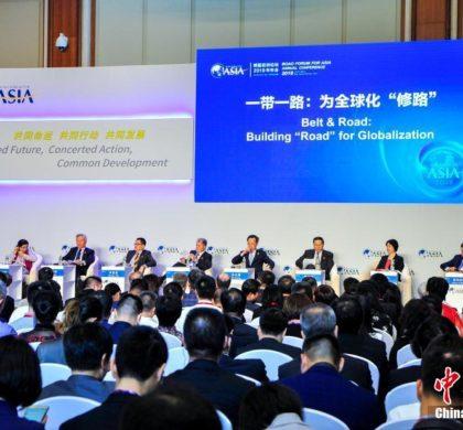 """中国倡导""""一带一路""""为全球化""""架桥筑路"""""""