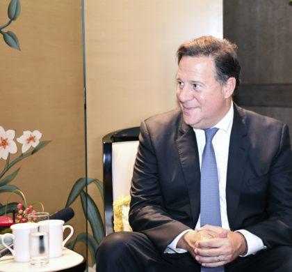 巴拿马总统巴雷拉:从贸易投资文旅等着手与粤港澳大湾区加强合作