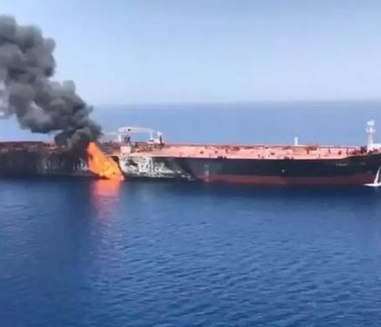 海湾油轮遇袭加剧地区紧张局势