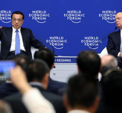 李克强2019年夏季达沃斯论坛特别致辞后回答问题及同各界代表对话交流实录