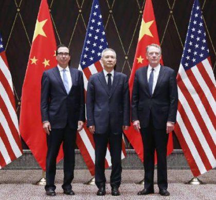 中美贸易磋商结束 中国外交部尖锐回应特朗普威胁言论