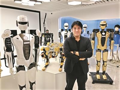 """香港青年麦骞誉大湾区创业:5G动作传感高危作业""""机器人""""驾到"""