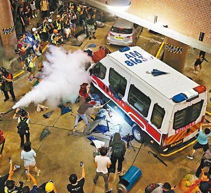 (港澳台·时评)不能纵容违法乱象继续破坏香港