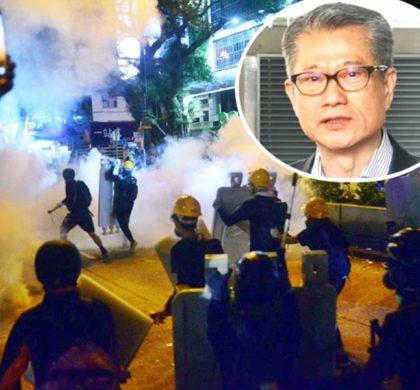 香港经济衰退风险增大 暴力冲击将伤经济元气