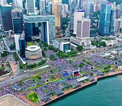 香港舆论:反暴力、护法治、求安定是香港主流民意