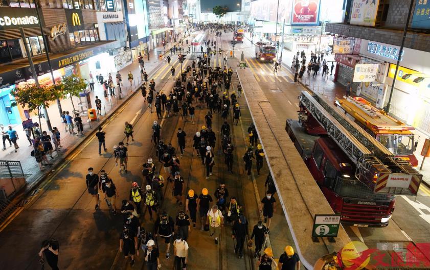 特写:香港的周末与平常不太一样