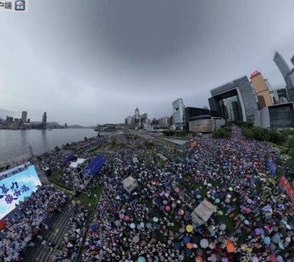 特写:香港大多数不再沉默