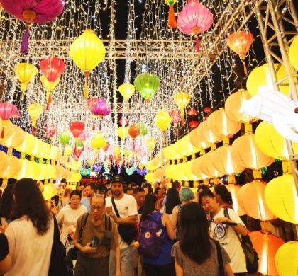 香港多彩中秋节:观彩灯、品月饼、舞火龙