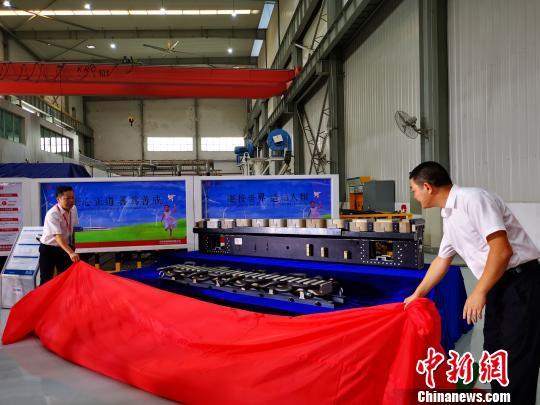 """中国时速600公里高速磁浮列车""""动力装备""""发布"""