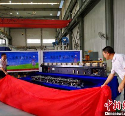 """中国研制出时速400公里""""永磁高铁""""电机"""