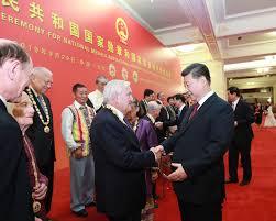 时评:你们对中国的好,勋章见证