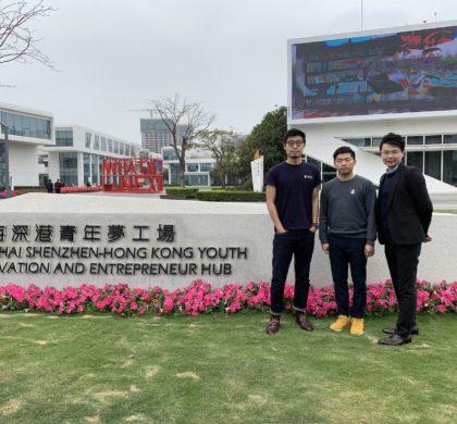 香港青年创客林恒一:大湾区是香港青年创新创业的新机遇