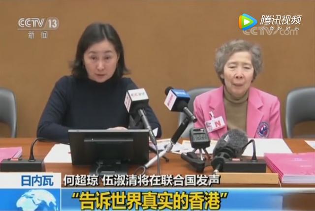 香港各界妇女联合协进会主席何超琼:把香港的情况如实带进联合国