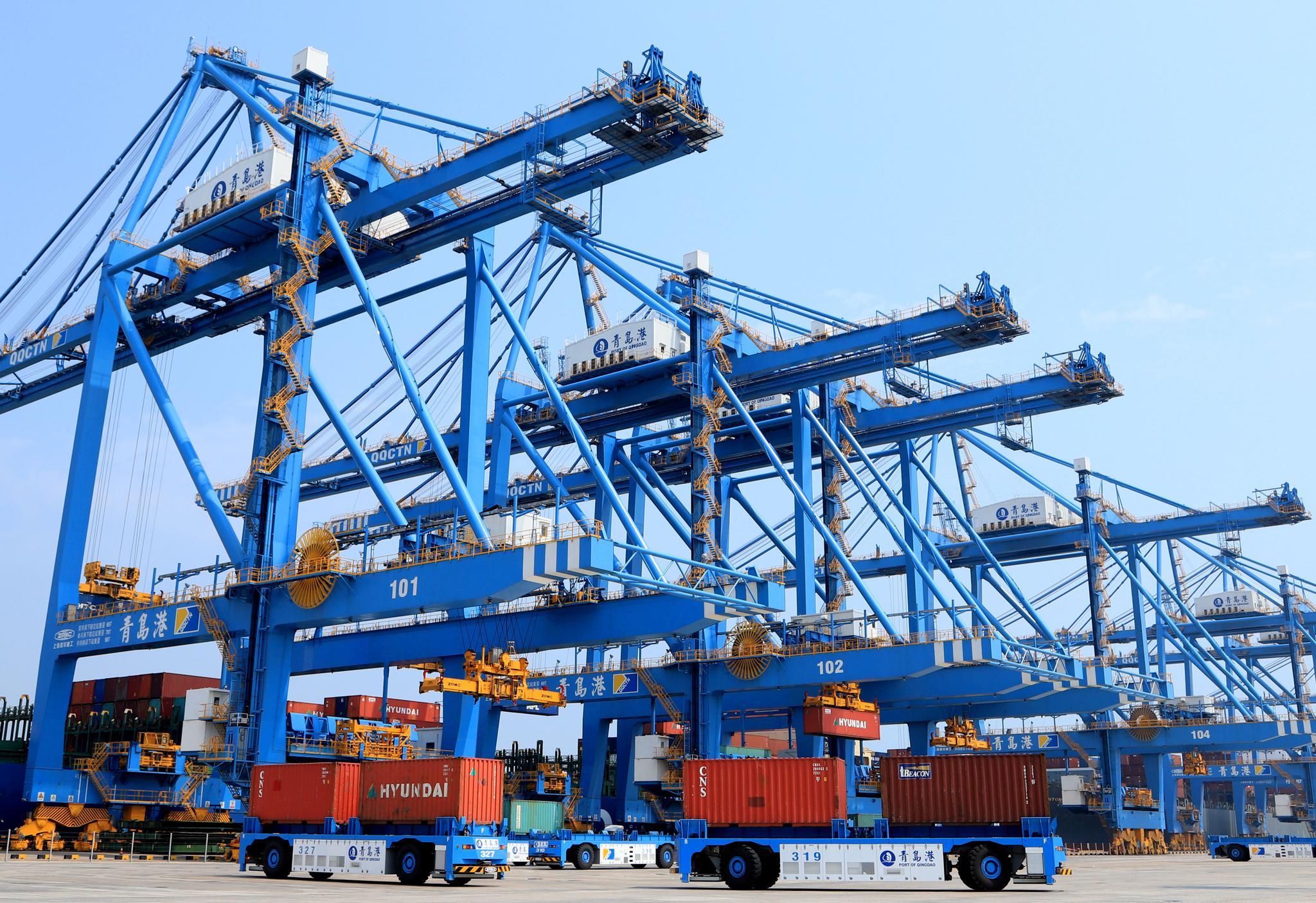 中国前8月外贸增长3.6%延续稳势