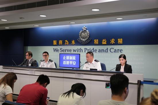 香港警方:自《禁止蒙面规例》生效以来共拘捕90人