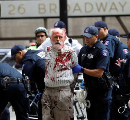 纽约警方一日内逮捕近百名示威者
