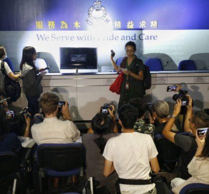 """述评:香港不应纵容作恶造假的""""假记者""""""""黑记者"""""""