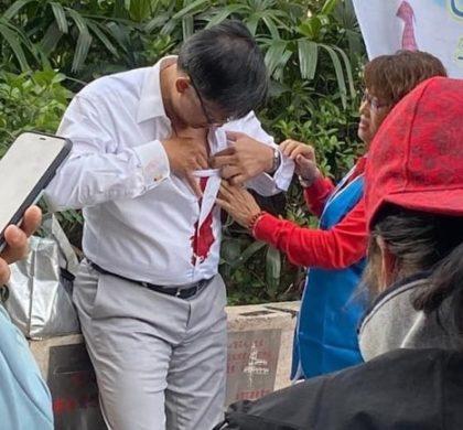 香港中联办副主任:香港暴力正从打砸抢烧走向杀人害命