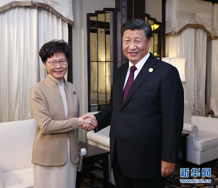 香港各界:习主席会见林郑月娥 为香港未来工作和发展指路领航