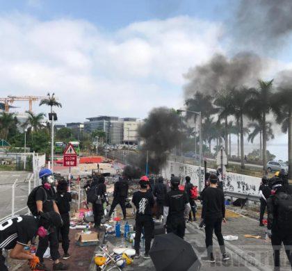 新华时评:香港的大学校园不是法外之地