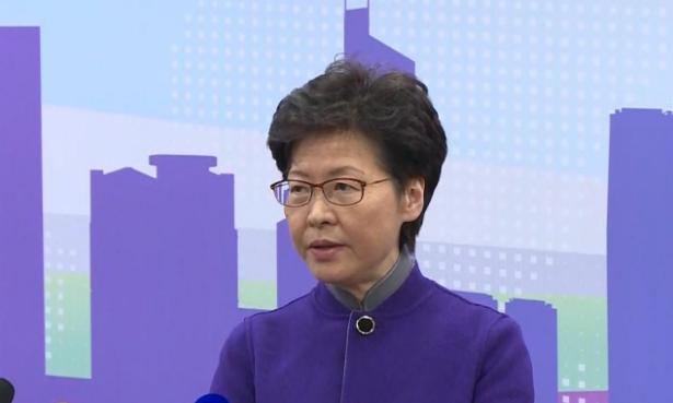 林郑月娥:感谢中央出台一系列惠及香港社会不同阶层市民的政策措施