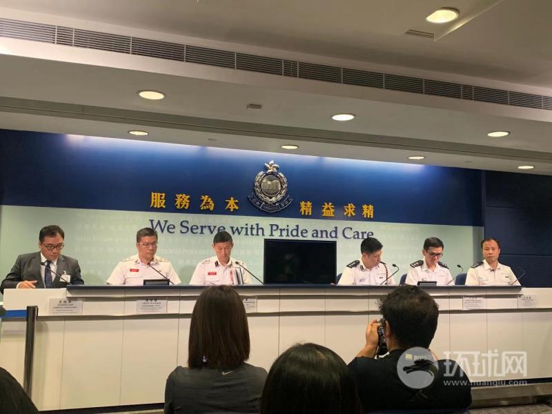 香港警方:校园从来都不是法外之地
