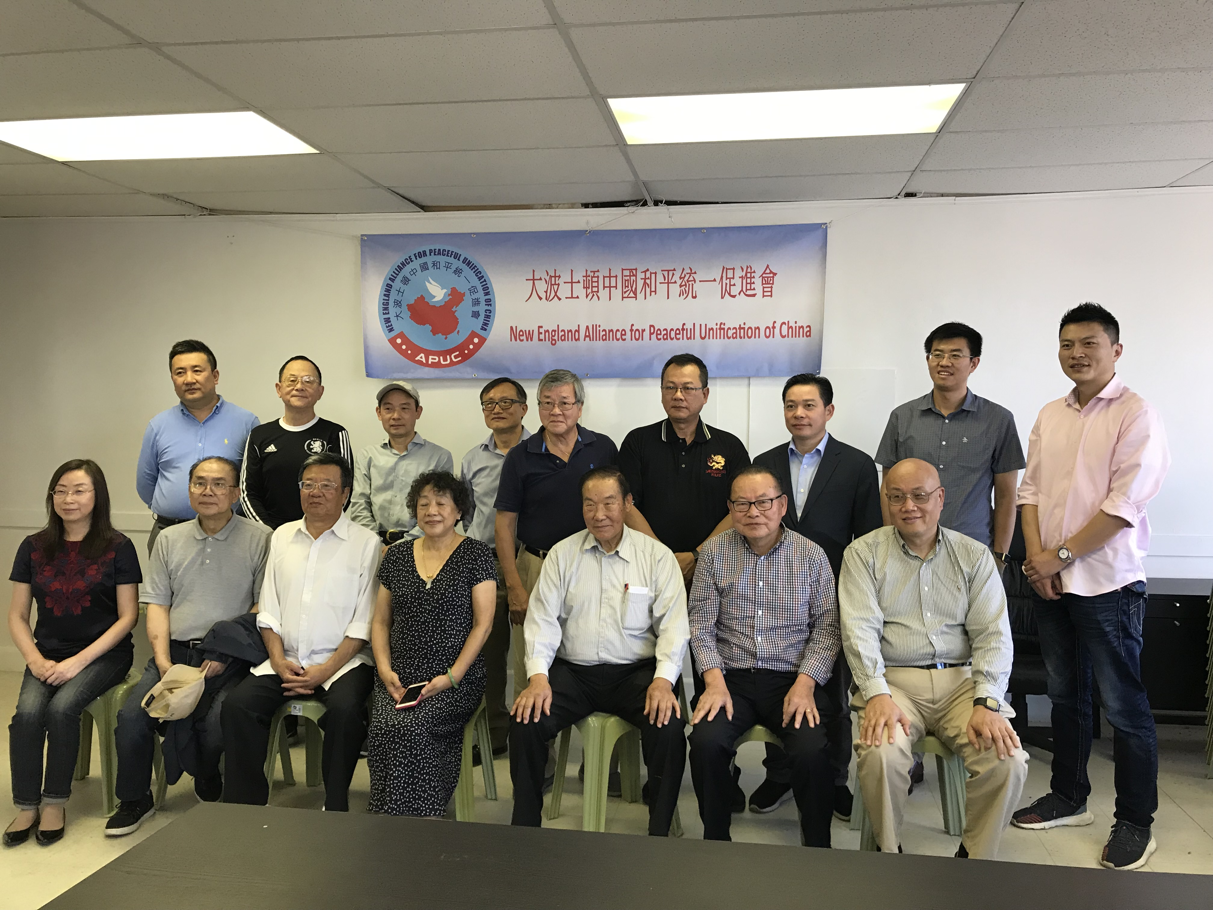 侨领胡运炤博士:中国和平崛起力量将有力推进中国和平统一
