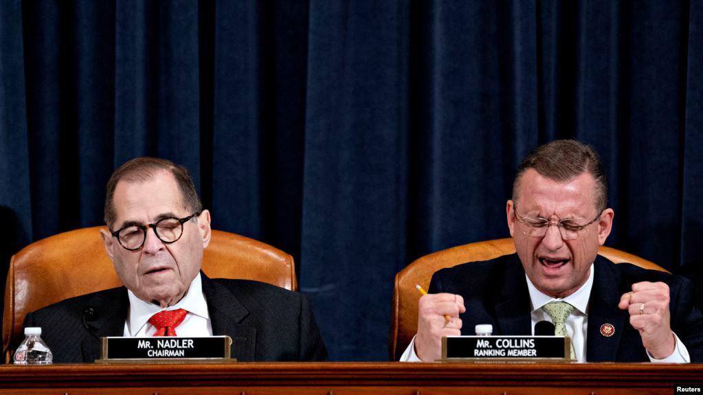 美国会众议院司法委员会推迟就特朗普弹劾条款进行表决