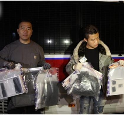 香港暴徒致命武器不断升级 市民人身安全频受威胁