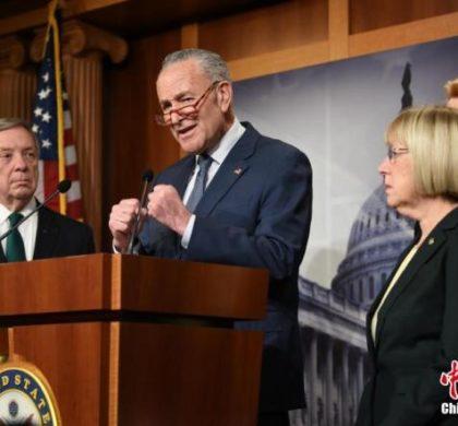 美参议院通过特朗普弹劾案审理流程决议
