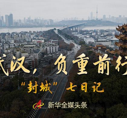 """武汉,负重前行——""""封城""""七日记"""