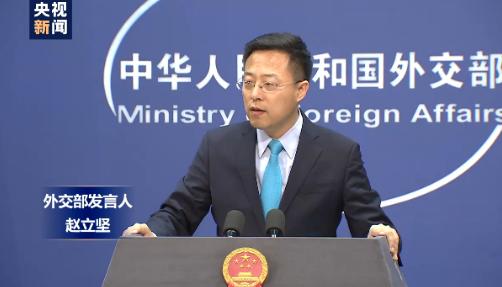 """外交部发言人谈法国支持中国战""""疫"""":""""患难见真情"""""""