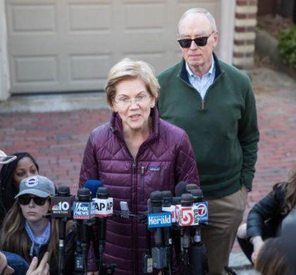 美国民主党总统竞选人沃伦宣布退选