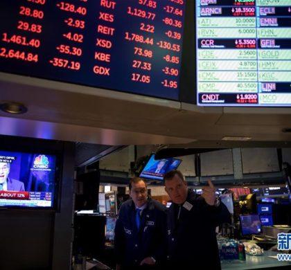 纽约股市暴跌再度触发熔断