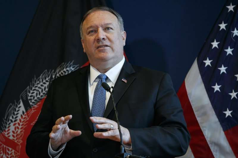 美国国务卿蓬佩奥突访阿富汗